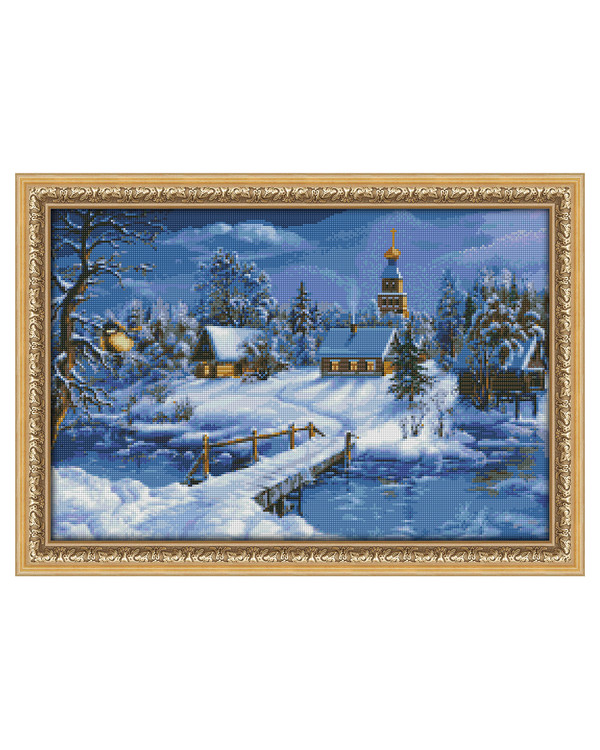 Diamond painting Winterlandschaft